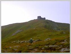 Последний километр до вершины г.Черная Гора(2028 м.)