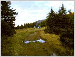 Выход на «Перемычку» (1,535 м.) – удобное место для превала, ночевки