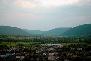 The town Perechyn