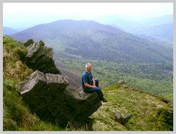 На склоне вершины Пикуй