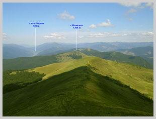 Вид с вершины г.Темпа
